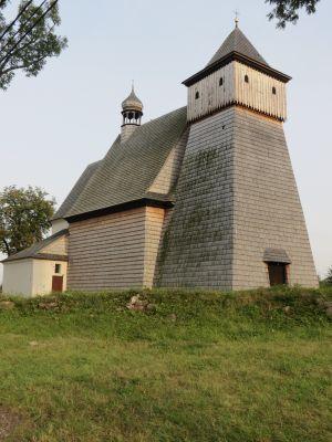 Gliwice, kościół św. Jerzego, widok od pn-zach.