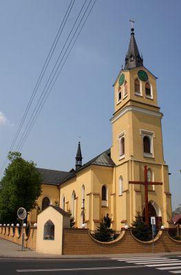 Miedźno kościół św. Katarzyny 30.04.11 p