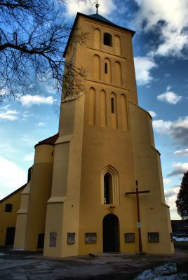 Grębocice -Kościół św. Marcina.