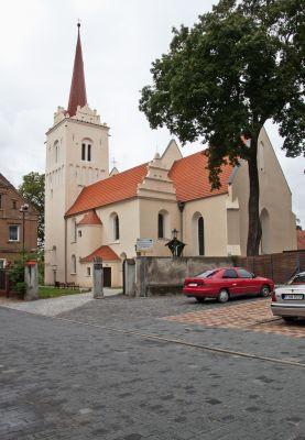 Nowe Miasteczko, kościół pw. Marii Magdaleny