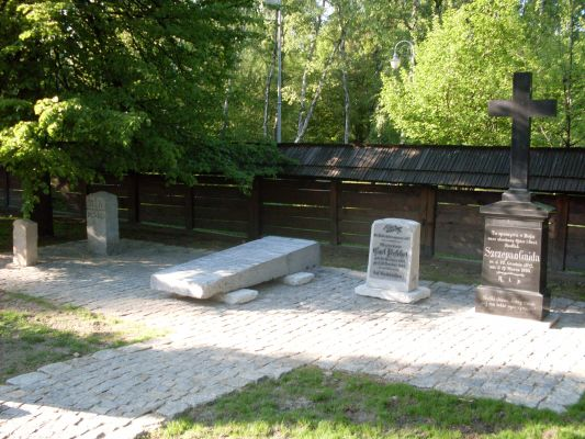 Lapidarium in Park Kosciuszki 2