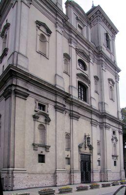 2008 08230031 - Leszno - kościół parafialny pw. św. Mikołaja