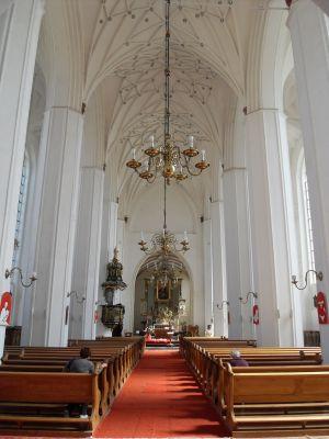 Gdańsk kościół św. Piotra i Pawła