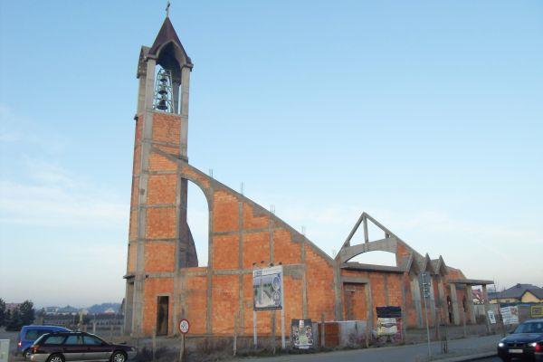 Gdańsk kościół św. Polikarpa Biskupa Męczennika (w budowie)