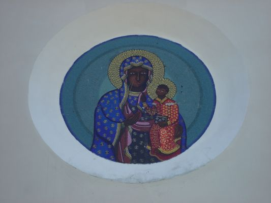 Kościół w Sieluniu.Detal