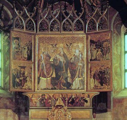 Bielsko-Biała, Tryptyk w kościele św. Stanisława