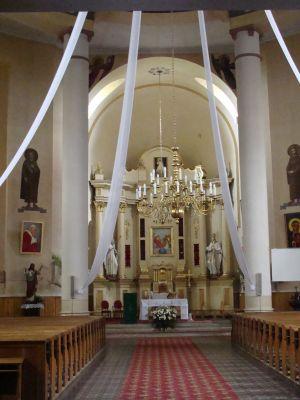 Fałków in church