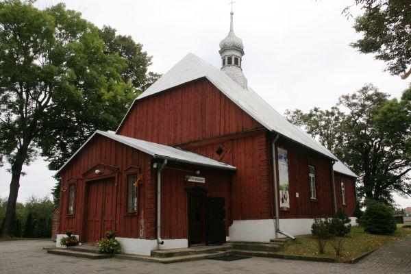 Kraszewo, kościół par. p.w. Świętej Trójcy 01; Kot