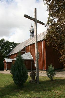 Koziczynek, kościół par. p.w. Świętej Trójcy 02; Kot