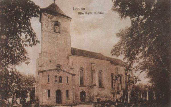 POL Wodzisław Śląski stary kościół