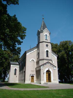 Łukowa - kościół WNMP (06) - DSC04263