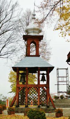 Dzwonnica kościoła WNMP w Krzywosądzy