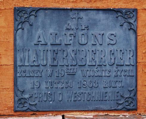 Epitafium Alfonsa Mauersbergera
