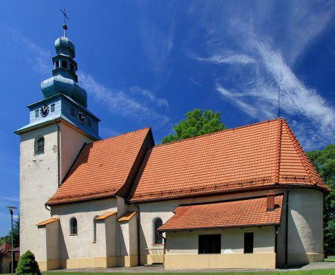 Kościół Wszystkich Świętych w Górkach Wielkich 2