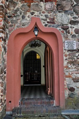 Jerzmanowa --Kościół Wszystkich Świętych-wejście (zetem)