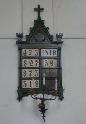 Tablica na numery