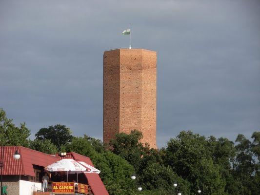 Wieża zamku w Kruszwicy