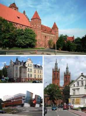 444. Collage of views of Kwidzyn