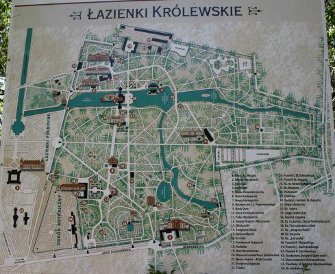 Plan Lazienek Krolewskich