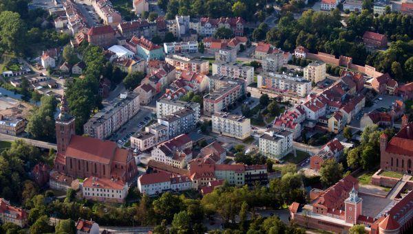 Lidzbark Warmiński - stare miasto