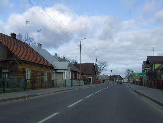 POL Łyse Kurpie street
