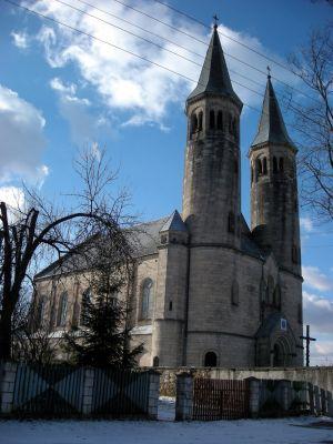 Miedzierza church
