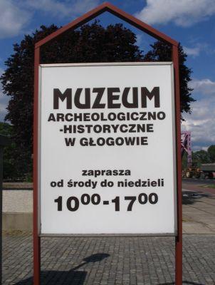 Muzeum Archeologiczno-Historyczne w Głogowie tablica2