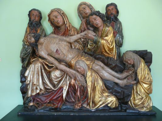 Museum of Archdiocese in Gniezno - sculpture 10b