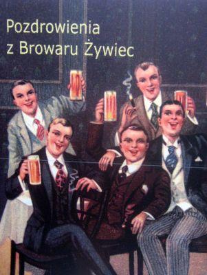 Dawna reklama - Browar Żywiec