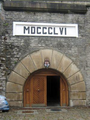 Wejście do muzeum - Muzeum Browaru w Żywcu