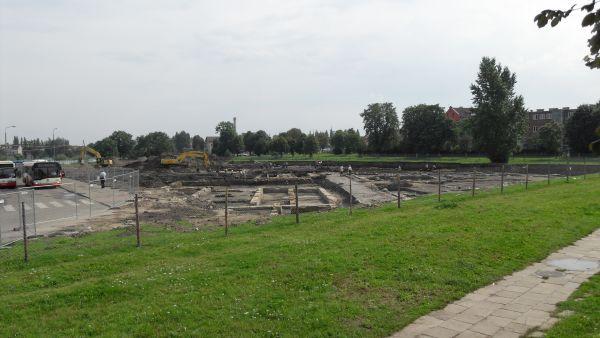 Muzeum II Wojny Światowej w Gdańsku w budowie (1)