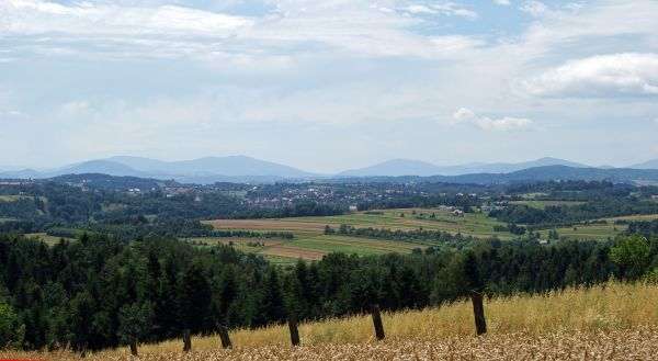 City of Nowy Wiśnicz (view from NE), Bochnia County, Lesser Poland Voivodeship, Poland