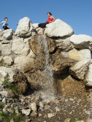 Myślecinek alpinarium 1