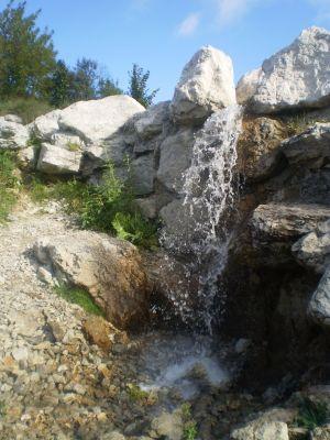 Wodospad - Waterfall - Ogrod botaniczny - Myslecinek - Bydgoszcz