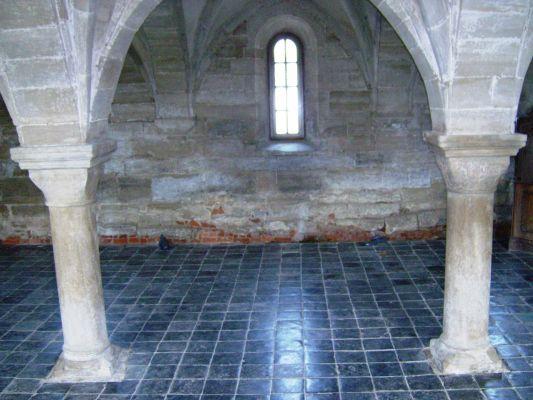 Koprzywnica. Klasztor pocysterski. Wnętrza4