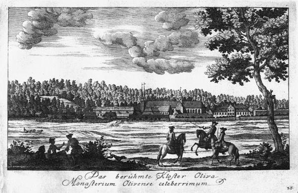 Matthäus Deisch - Kloster Oliva 1765