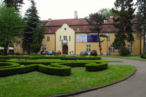 Gdańsk Oliwa Stary pałac opacki