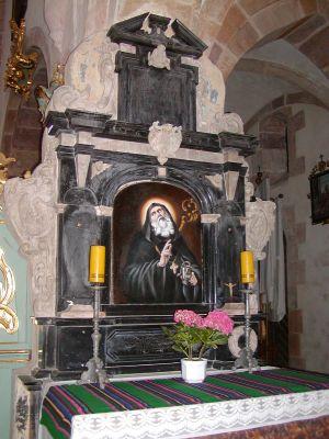 Sulejow oltarz-benedykt