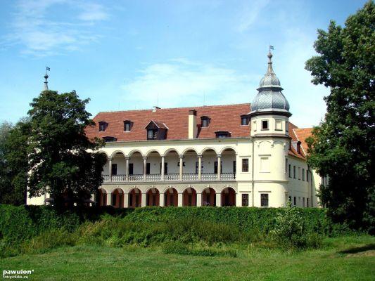 Pałac Blücherów w Krobielowicach