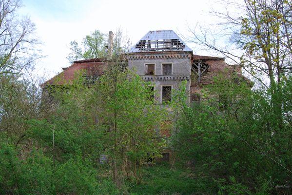 Pałac, 2 poł. XVIII, Sokołowiec Dolny, pow. złotoryjski