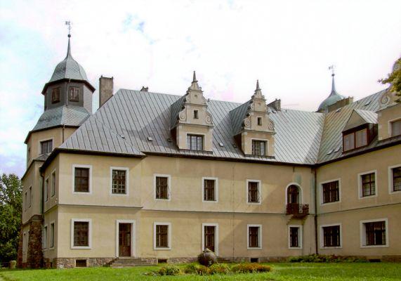 Pałac Hochenbergów w Goraju - bok