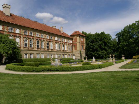ańcut palace - italian garden (1)