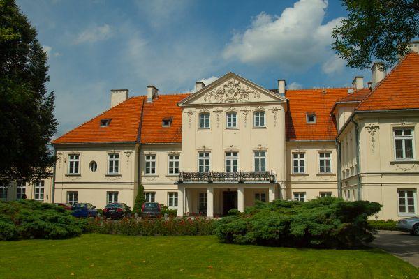Pałac w Lesznie