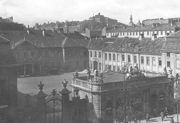 Pałac Potockich w Warszawie
