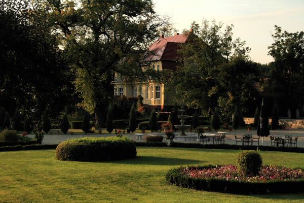 Bądzów - Pałac ( zetem)1