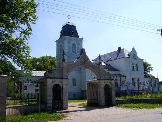 Pałac we wsi Bajerze (Clerk)