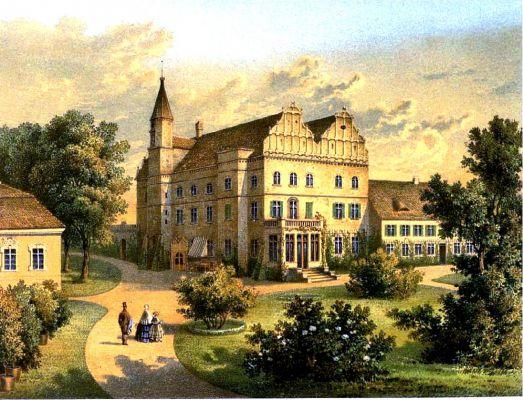 Schloss Klein-Tschirnau Sammlung Duncker
