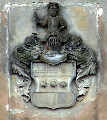 COA relief Górzyn Palace