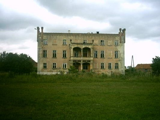 Gorzyn Palace backview2