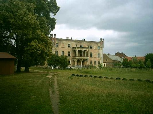 Palace Górzyn back